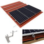 Solar Clay Tile Roof Mounts