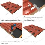 solar panel clay tile roof mounts