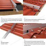 solar panel clay tile roof racking
