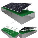 solar ground racking system