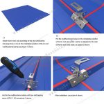 Solar Panel Metal Roof Racking, SPC-RF-CK02-HR