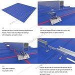 solar metal roof racking mounts