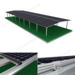 BIPV roof for factory
