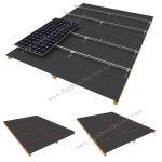 solar panel shingle roofing mounts