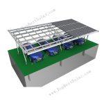 solar panel carport mounting system